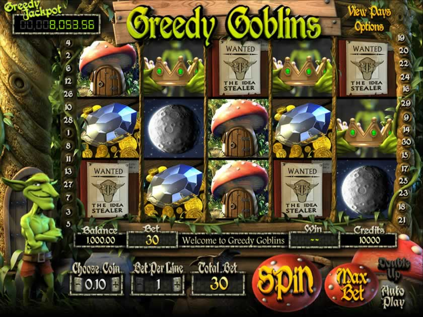 greedy goblins screen