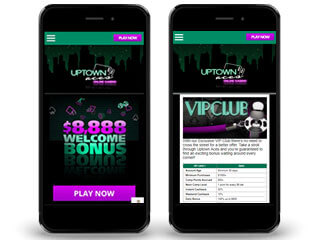 Uptownaces Mobile Screenshot