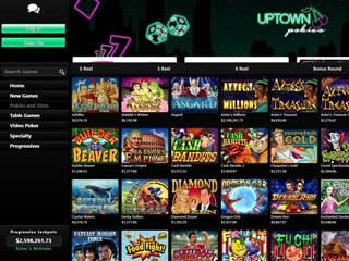 Uptown Pokies Screenshot Mobile