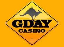 Gday online casino logo