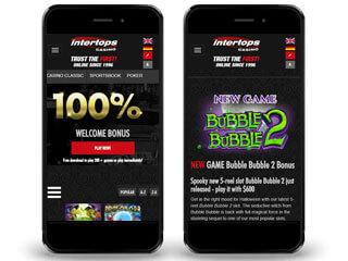 Intertops Casino Red Mobile