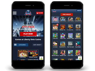 Liberty Slots Casino Mobile