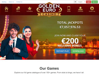 Golden Euro Casino PC