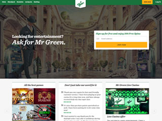 Mr Green Casino PC1