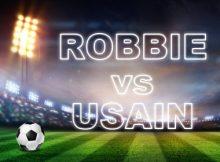Usain vs Robbie