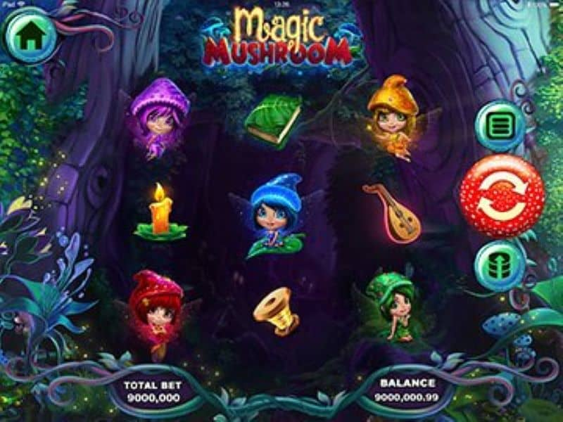 Screenshot of Magic Mushroom slot game