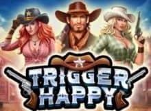 Trigger Happy online slot logo