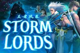 Storm Lords game logo