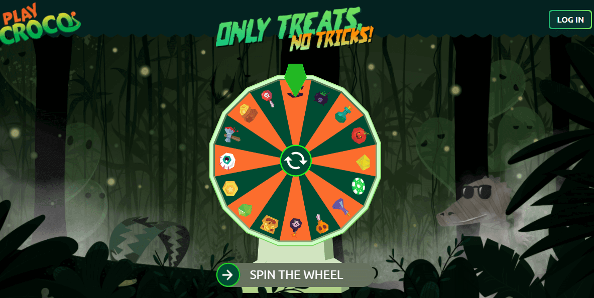 PlayCroco Halloween Wheel Spin