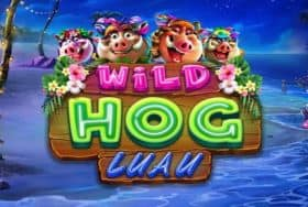 Game logo Wild Hog Luau