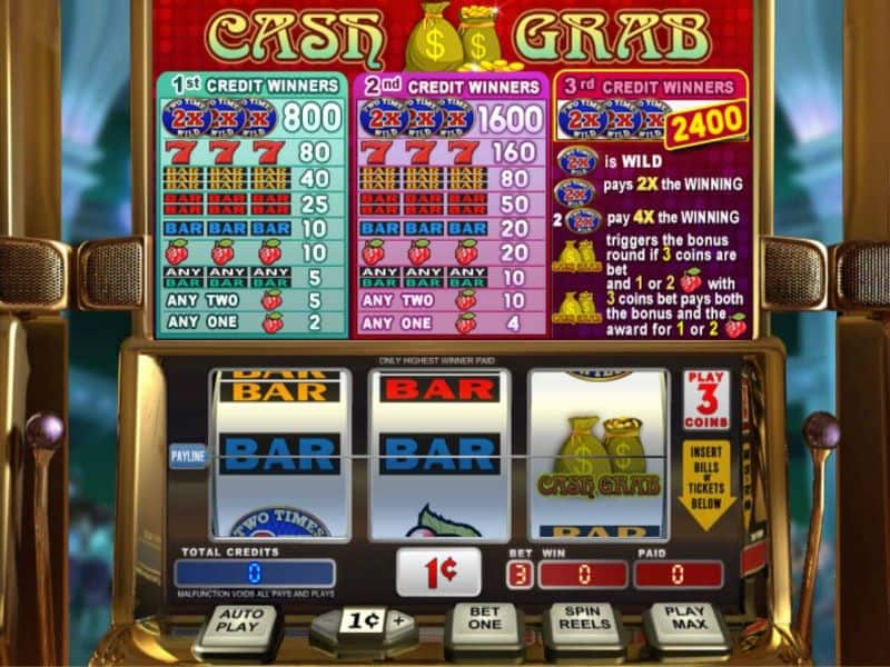 screenshot Cash Grab Online Slot
