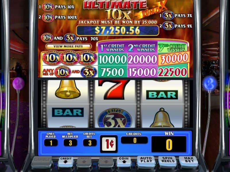 screenshot Ultimate 10X slot
