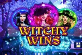 Logo Witchy Wins Slot